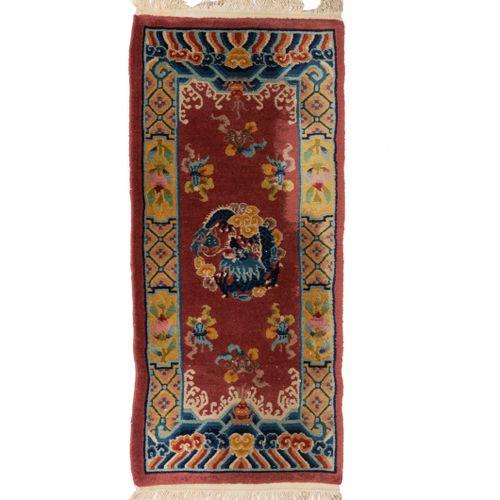 Chine Shanghaï milieu XXe siècle  Caractéristiques techniques : velours en laine…