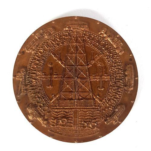 SAHARA Médaille en bronze de l'Organisation commune des régions sahariennes Pétr…