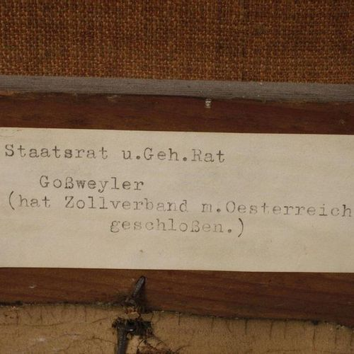 Ludwig Wagner Ludwig Wagner, homologue du Portrait Goßweyler  Portraits Biederme…