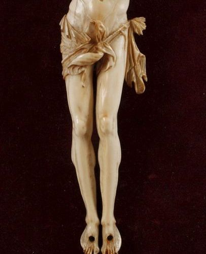 Corpus Christi Ivory  middle 18th century, ivory, elaborate carving, multi piece…