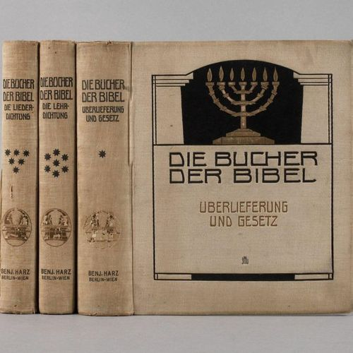 The books of the Bible  3 vols., Tradition and Law, Die Liederdichtung, Die Lehr…