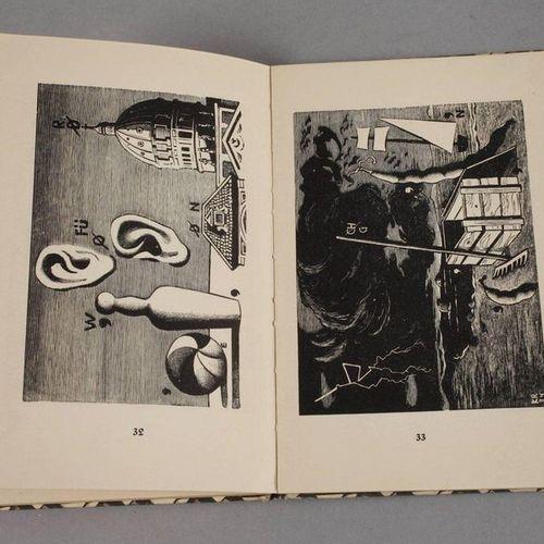 Picture puzzles in wood engravings  by Karl Rössing, Leipzig Insel Verlag No. 21…