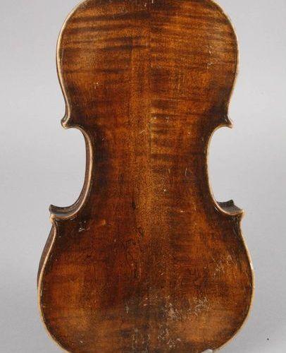 Violin  inside inscribed Josef Klotz anno 1795 on an adhesive label, divided, sl…