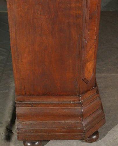 Baroque floorboard cabinet  Solid oak and walnut veneered on coniferous wood, 1s…