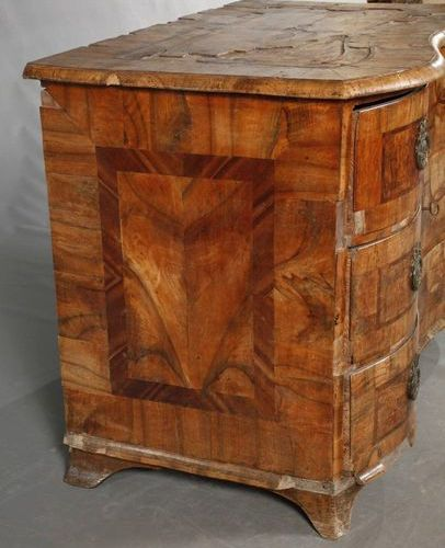 Courtly baroque chest of drawers  Thuringia, c. 1750, from Heidecksburg Castle, …