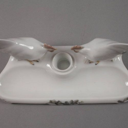 """Christian Thomsen Royal Copenhagen writing set """"Two Roosters""""  designed by Chris…"""