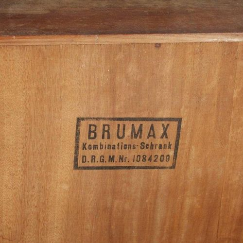 System furniture Brumax  German, 1930's, marked Brumax combination cabinet on th…