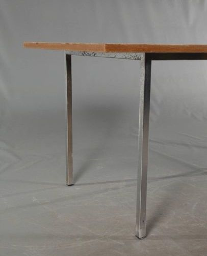 Seating group Lübke  Knoll model, 1970s, consisting of a dining table and seven …