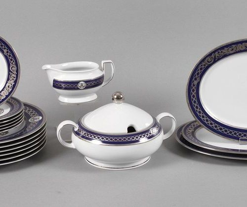 Seltmann Weiden Royal Dining Service  for six persons, unique piece from the ser…