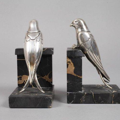 Susanne Bizard Susanne Bizard, serre livres en forme d'oiseau  Années 1930, sign…