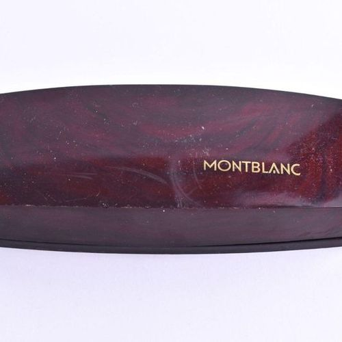 Füllfederhalter Montblanc Simplo | Fountain pen Montblanc Simplo nib 750/000 GG,…