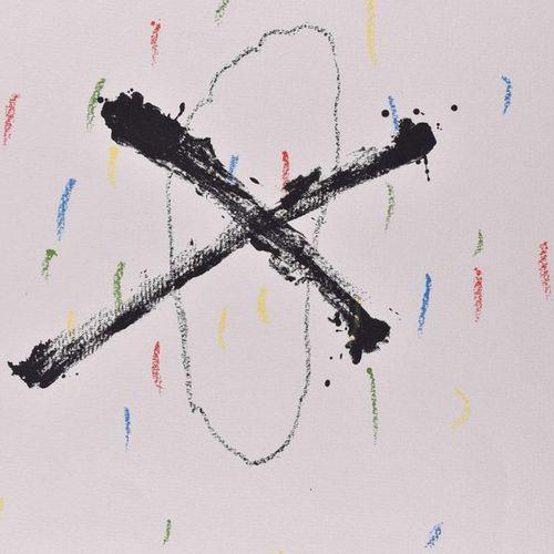 "Antoni TAPIES (1923 2012) | Antoni TAPIES (1923 2012) ""Silenzi""  Graphic colour …"
