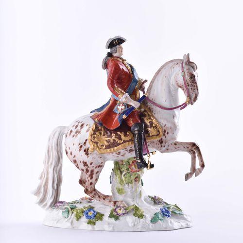 Reiterstandbild Friedrich August III. Von Sachsen Meissen 19. Jhd. The Saxon Ele…
