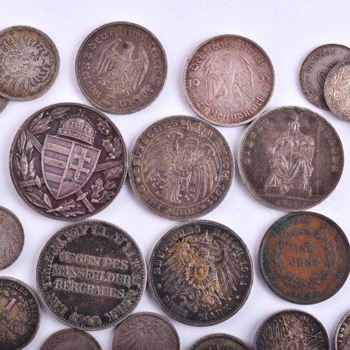 Konvolut Münzen Preußen Kaiserreich | A bundle of coins Prussia Empire 45 pieces…