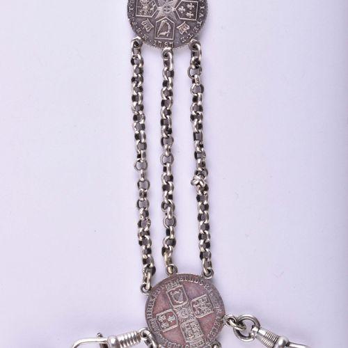 Chatelaine England um 1905 | Chatelaine England around 1905 silver sterling, wit…