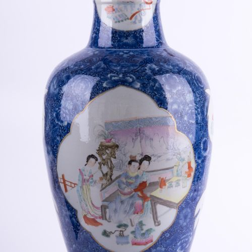 Bodenvase China Ch'ien lung Periode | Vase, China Qinlong (Ch'ien lung) period b…