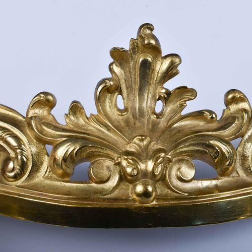 Kaminvorsteher, Funkenschutz Frankreich um 1900 青铜,镀火,宽:72厘米,高:23厘米