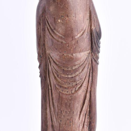 2 Teile Bambus Schnitzerei, China Qingperiode Sceptre Rui, symbole de bonne chan…