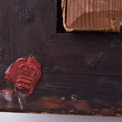 Anonymer Künstler 19. Jhd., wohl Frankreich 渔夫带来的渔获油画/帆布,43,5厘米x59,5厘米,带框架53,5厘米…