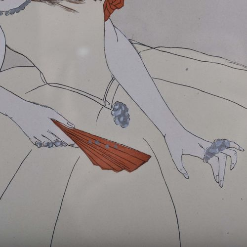 Leo RAUTH (1884 1913) Schwibs水粉画,37厘米×37厘米,40.5厘米×40.5厘米,底部中央有签名和日期1911年