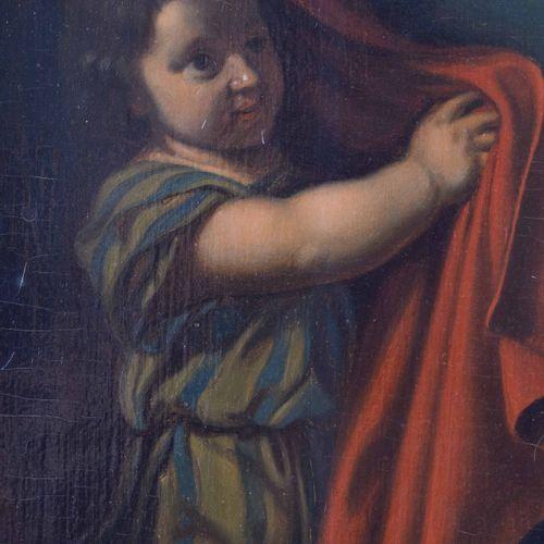 Adrian VAN DER WERFF (1659 1722), Kopie nach 哈吉亚教堂的绝望画作 油/帆布,88厘米x70厘米,框架108厘米x8…