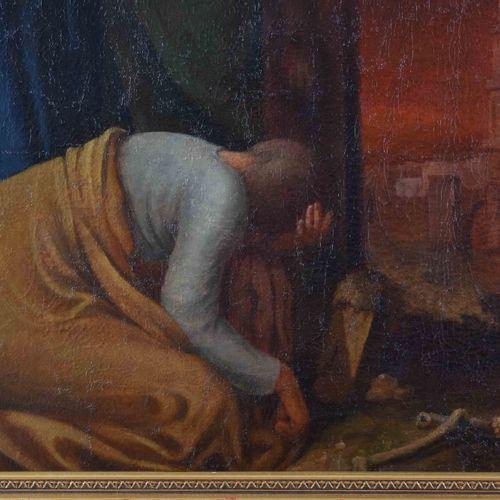 Ignatz Rütz und Sohn 19. Jhd. 各各他绘画 油/帆布,95厘米x67厘米,框架113厘米x85.5厘米,背面有签名和日期1841。