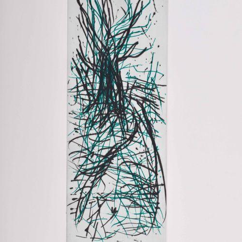 A.R. PENCK (1939 2017) O.T.Grafik Gravure en couleur sur papier fait main, taill…