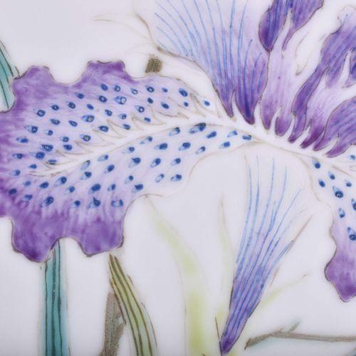 Kaiserliche Bildplatte China um 1915/16 Porcelaine, Hongxian 1915 1916, le rebor…