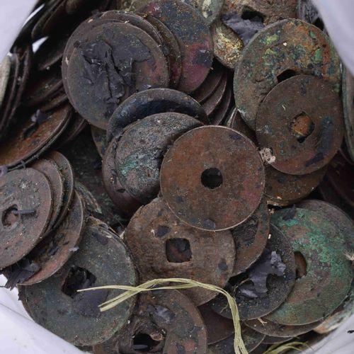 Konvolut diverse Münzen China 约2公斤,从汉代到清代,出处:老柏林私人收藏