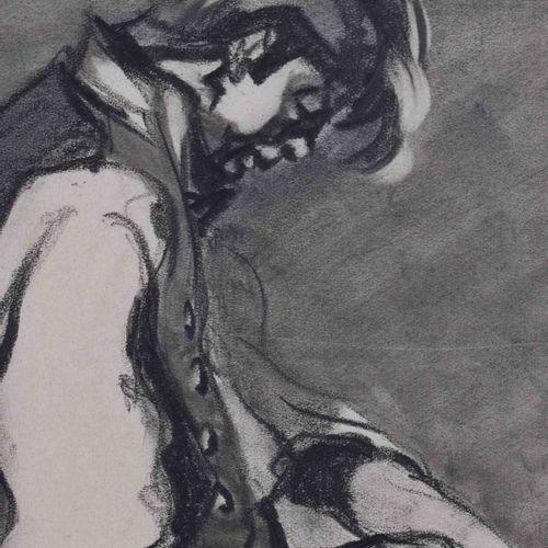 Peter Anton GEKLE (1899 ?) Jeune ouvrier agricoleDessin graphite sur papier, 31,…