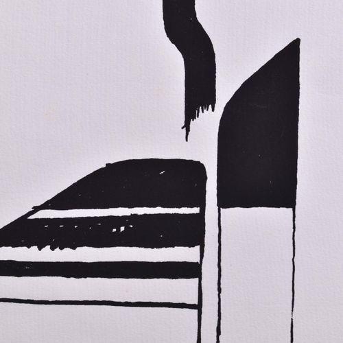 Bernhard HEILIGER (1915 1995) Sans titreGraphique lithographie en couleurs, 32,5…