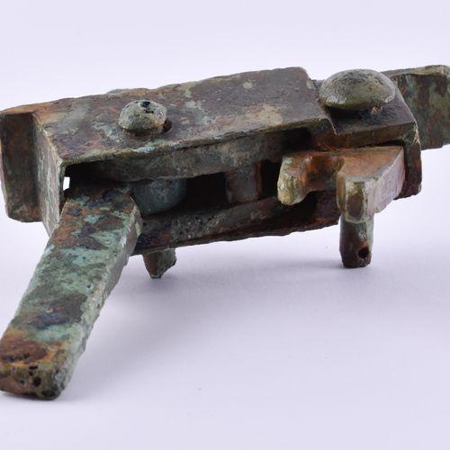 Abzugsmechanismus Armbrust China Han Dynastie Bronze, Chine, dynastie des Han oc…