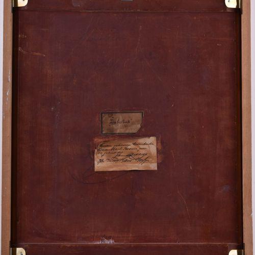 J. BERNARD Hans ZATZKA (1859 1945) Love SongPeinture huile/bois, 57 cm x 37 cm, …