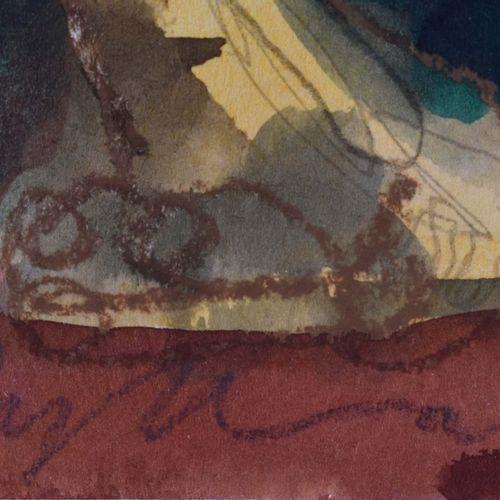 Klaus ZYLLA (1953) Maria Caroga IIDrawing Aquarelle, craie, crayon, dimensions v…