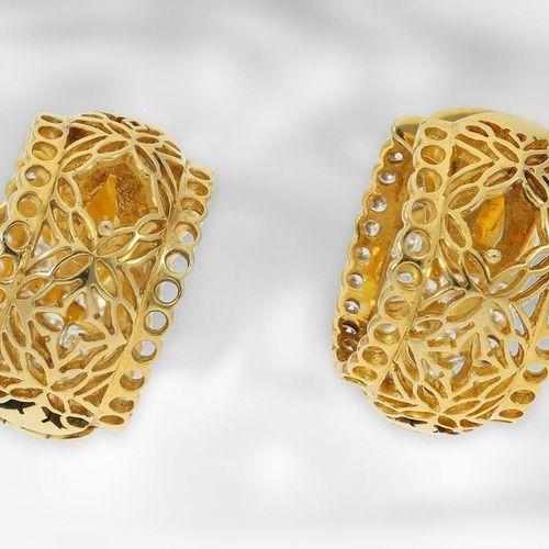 Bijoux d'oreilles : créoles vintage inhabituelles et attrayantes avec diamants, …