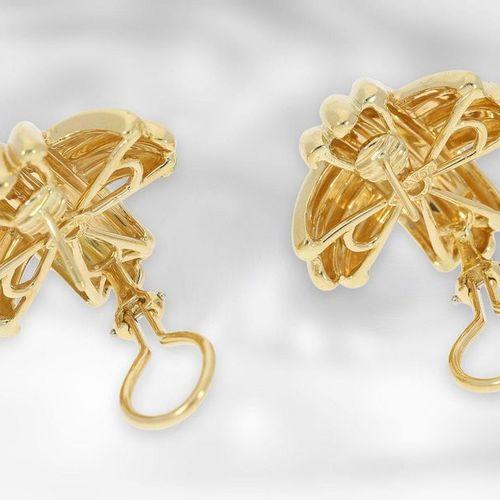Bijoux d'oreille : bijoux d'oreille en diamant de très haute qualité et d'un des…