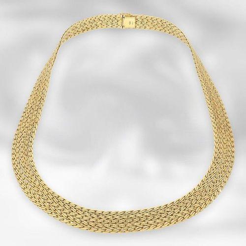 Collier/chaîne : collier décoratif en or vintage exceptionnellement lourd, en or…