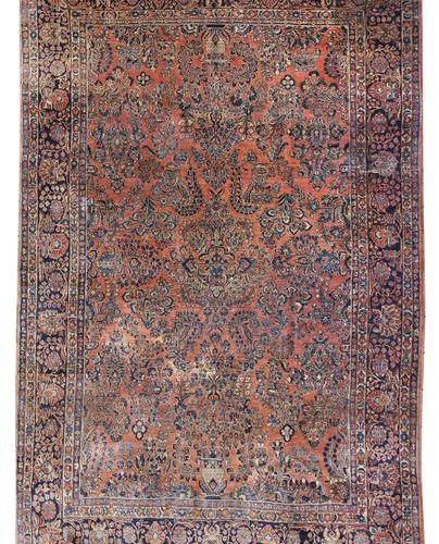 Réimportation du sarouk Perse occidentale, vers 1930, laine sur coton, appelé sa…