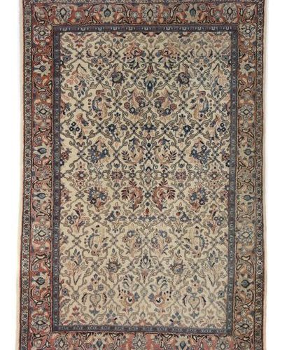 Un petit sarouk de Perse occidentale, 2ème moitié du 20ème siècle, laine sur cot…