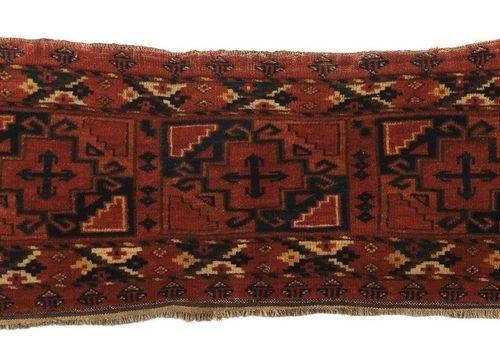 Ersari torba avec 3 güls Turkestan du sud/Afghanistan, vers 1900, laine sur lain…
