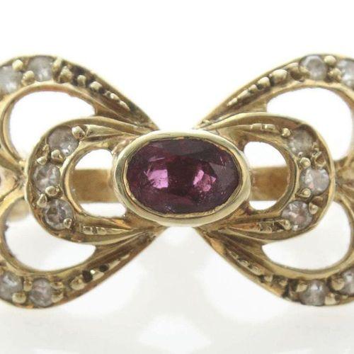 Collier clip probablement fin du 19e siècle, or jaune 585, clip en forme de bouc…