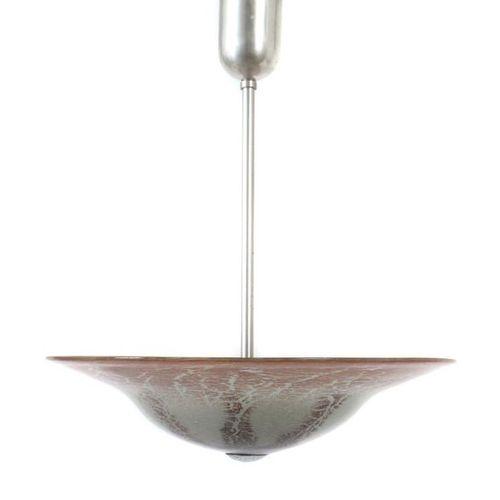 Lampe à suspension WMF, Geislingen, Karl Wiedmann (technique de décoration), ann…