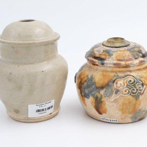 VIETNAM, XV XIX CENTURY 1. A double gourd water pipe, Le dynasty, XV century Gla…