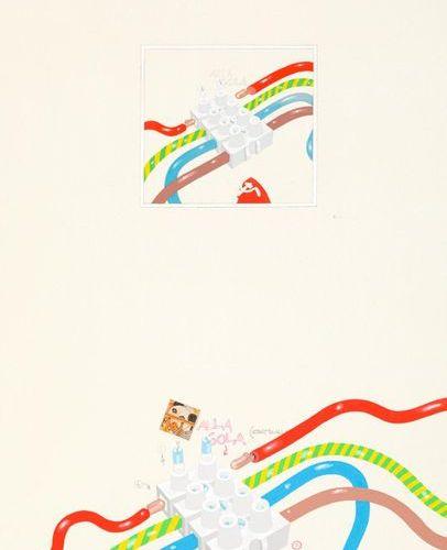 LUCA ALINARI (1943 2019) Duplicato duplicato, 1973 Acrylics on canvas  100x70 cm…