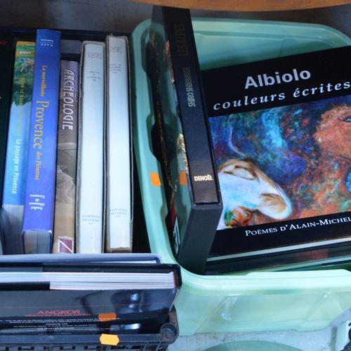 2 caisses de livres d'Art null