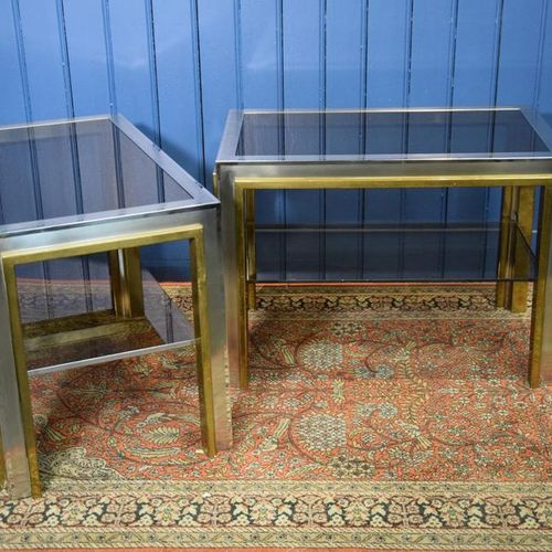 A pair of pieces of sofa ROMEO REGA 1904/1968 for the house CHARLES JANSEN gilde…