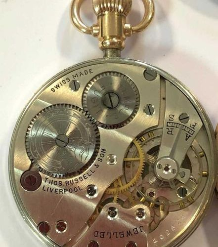 C1929, the signed white dial, 41mm diameter, with black Roman numerals, blued sp…