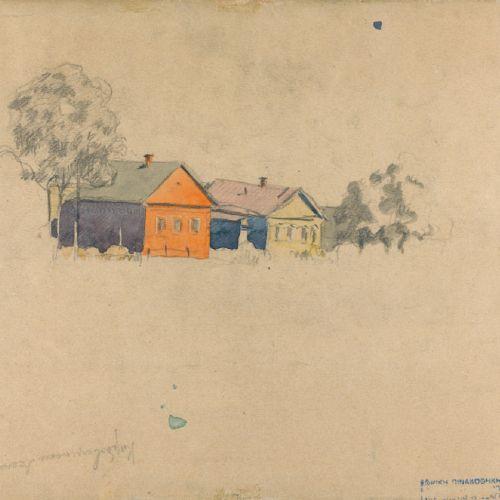 Ivan Kliun (Russian, 1873 1942) Ivan Kliun (Russian, 1873 1942), BOLSHIE GORKI, …