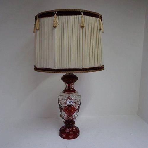 KRISTALLEN LAMPADAIRE Carmine red H: 70 cm
