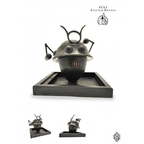 "Jacobs/Blake and Mortimer. Ref 5233 sculpture representing ""the samurai robot"" f…"